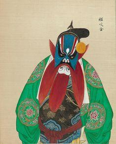 BibliOdyssey.blogspot.com/***ALBUM OF 100 PORTRAITS OF CHINESE OPERA FIGURES
