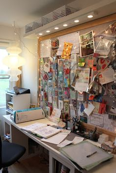 chelsea-sparks: A Tour of Our Lovely Home, part 2: Visit my Studio