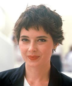 Isabella Rossellini Hairstyles for Pear-Shaped face                                                                                                                                                                                 More