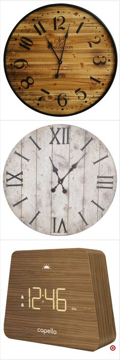 Shop Target for decorative clock you will love at great low prices. Free shipping on orders of $35+ or free same-day pick-up in store.