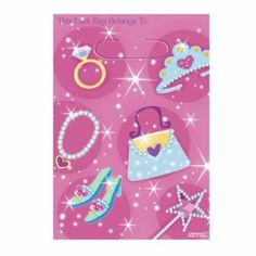 """""""Princess Party Bags, pack of 8"""": Amazon.co.uk: Toys & Games"""