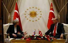 اخبار اليمن : رئيسة وزراء بريطانيا تدعو تركيا لاحترام حقوق الإنسان بعد الانقلاب