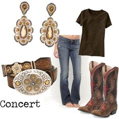"""""""C..."""" by farmerstrophywife on Polyvore - love the boots - but not in MY budget - DUH!"""