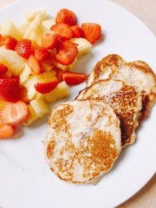 Pannenkoeken met kokosbloem en fruit! - Have a Food Time!