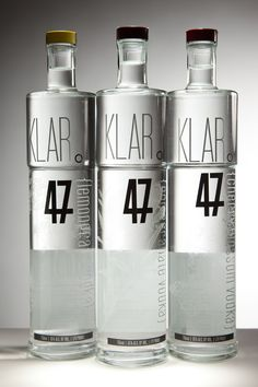Klar 47 Vodka by Garrett Patz.  Very bold IMPDO.