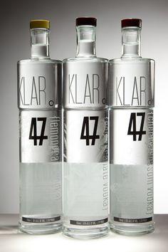 Vodka bottles with full body shrink sleeve. #etiquette #bouteille #shrink #sleeves #bottle #labels