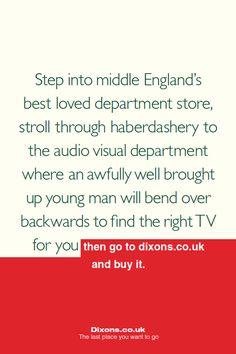 Creative Review - Dixons gets honest