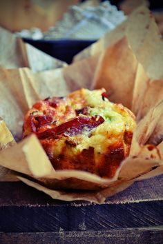 My Family Kitchen: Bacon & Cheese Baked Egg Cups
