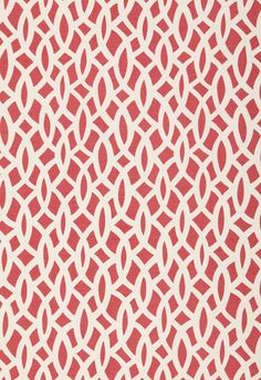 Chain Link in Cerise by F Schumacher Fabrics