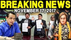 BREAKING NEWS TODAY NOVEMBER 16 2017 TRILLANES l DE LIMA l PRES. DUTERTE...