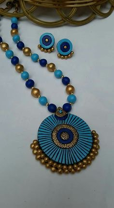 Real terracotta jewelry 950/-