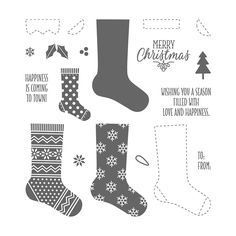 Hang Your Stocking Photopolymer Stamp Set by Stampin' Up!