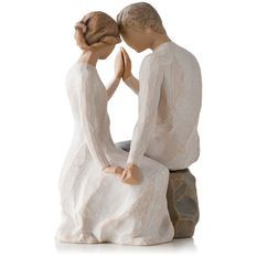 Willow Tree Figurine - Around You this was my wedding cake topper Willow Tree Engel, Willow Tree Figuren, Wedding Cake Toppers, Wedding Cakes, Sculpting, Marie, Dream Wedding, 2017 Wedding, Irish Wedding