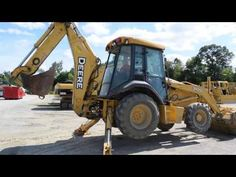 John Deere 310SG GLENN CUSTOMER VIDEO