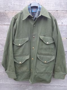 Vintage 40's 50's sport togs wool ranger green by Simplemiles, $52.00