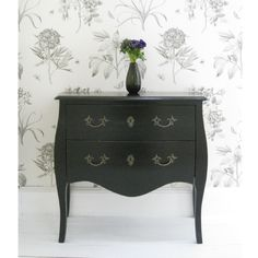 Gothic Black Chest by The French Bedroom Company. £360