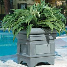 Outdoor Planter Speakers Piermont outdoor planter speakers are made of teak wood which is speakers hidden in flower pot so clever workwithnaturefo