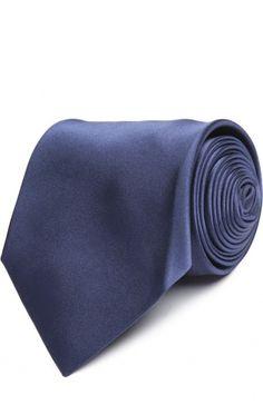 Галстук Tom Ford, синего цвета, арт. 7TF12XTM в ЦУМ | Фото №1