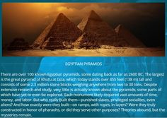 Oracle Series and the Pyramids.