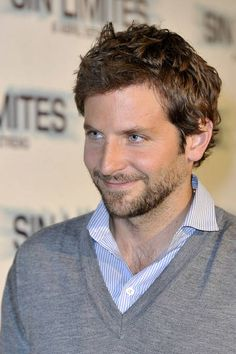 Bradley Cooper....yum...I will have him with a side of chocolate!