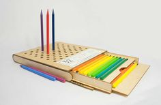 Diseño de un empaque ecológico para lápices de colores
