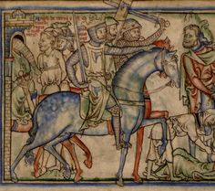 (The Life of King Edward the Confessor) I of Denmark. King of Denmark,England, and Norway. Medieval World, Medieval Art, Real Vikings, Viking Culture, Early Middle Ages, Viking Art, Historical Images, Anglo Saxon, England