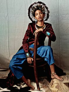 WILLOW SMITH POSES FOR CR FASHION BOOK photographed by Bjorn Iooss