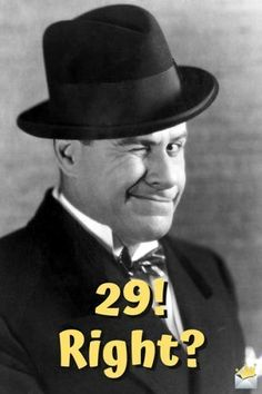 Funny Happy Birthday Images - Happy Birthday Funny - Funny Birthday meme - - Funny happy birthday image for her with vintage photo of a man winking. The post Funny Happy Birthday Images appeared first on Gag Dad.