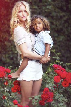 Beautiful Mother daughter