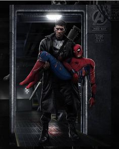Finna see Homecoming again! Art by @spdrmnkyofficial  #SpiderMan #Homecoming #Punisher #Avengers #Marvel #MarvelComics #Comics #ConceptArt #Art #Artist #Superhero