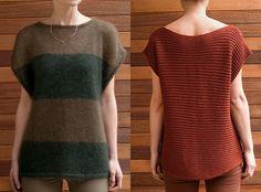 Mix No. 19 and Mix No. 21 knitting patterns by Lydia Tsymbal
