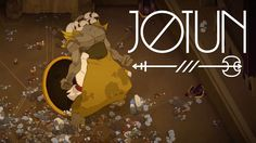 jotun game. A nordic game about giant boss fights