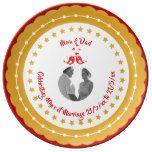 40th RUBY PHOTO Wedding Anniversary Parents Red Plate #weddinginspiration #wedding #weddinginvitions #weddingideas #bride
