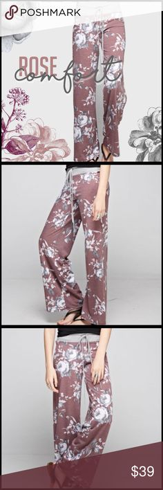 💓RESERVED FOR Michelle💓 Rose Comfort Casual Pants Boutique Pants