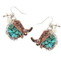 Shyanne® Women's Boot Western Charm Earrings
