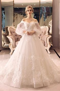 Wedding Dresses 2018, Tulle Wedding, Cheap Wedding Dress, Bridal Dresses, Gown Wedding, Fantasy Wedding Dresses, Mermaid Wedding, Tulle Ball Gown, Ball Dresses