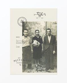 Pettirosso Handcraft stamp handmade style