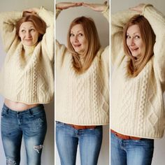 How to stretch a shrunken sweater