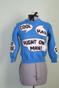 1970s Novelty Sweater