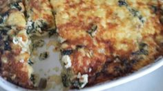 I made this Silverbeet and rice slice today using my TM .... yummy!!