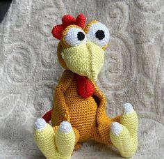 Амигуруми: Петух Морхухн. Бесплатная схема для вязания игрушки. FREE amigurumi pattern. #амигуруми #amigurumi #схема #pattern #вязание #crochet #knitting #петух #rooster #chicken #moorhuhn