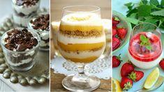 Gyors, egyszerű, mutatós, jól variálható és sokszor még a sütőt sem kell bekapcsolni hozzá: ez mind igaz a poharas édességekre, melyekkel akár még egy fárasztó munkanap végén is meglephetjük magunkat, családunkat. Chia Puding, Pudding, Food, Custard Pudding, Essen, Puddings, Meals, Yemek, Avocado Pudding
