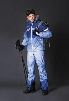 Russian ski jacket, ski pants