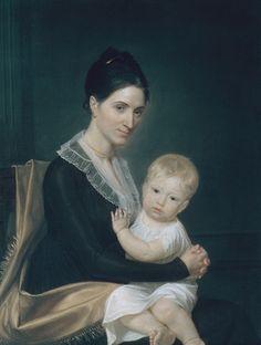 Mrs. Marinus Willett and Her Son Marinus Jr., c.1802 by John Vanderlyn