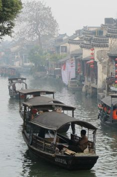 Xitang Ancient City, China. China's old towns are a great way to experience old customs, traditions, and architecture.