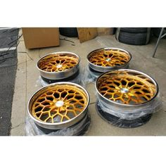 issforged iss forged snowflake wheels gold transam