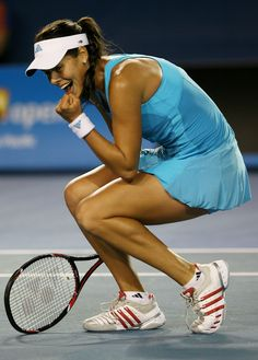 #Advocarepin2013.  Ana Ivanovic - She began to inspire me many years ago when she said in a press conference that tennis is what she loves to do, so that's what she will do.  I like to live by that mantra and do what I like.