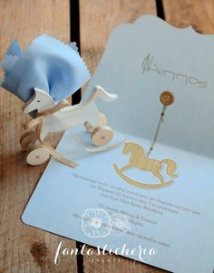 horse riding! Boy Baptism, Christening, Horse Party, Horse Riding, Baby Boy Shower, Religion, Place Card Holders, Wedding Ideas, Invitations