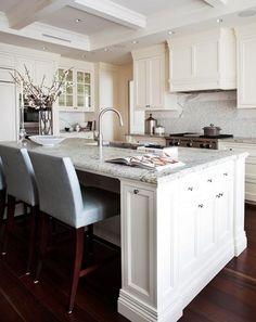 classic white kitchen by Scott Yetman