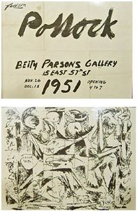 Betty Parsons Gallery, New York by Jackson Pollock